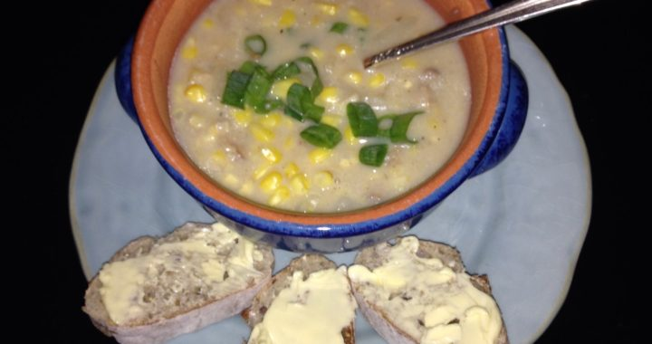 End of the Summer Corn Chowder