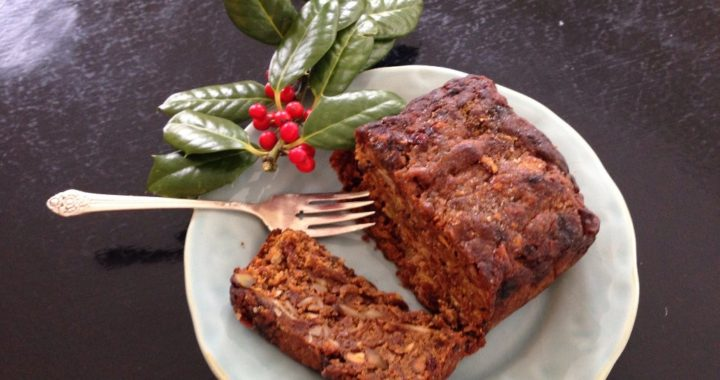 The Not So Traditional Fruit Cake
